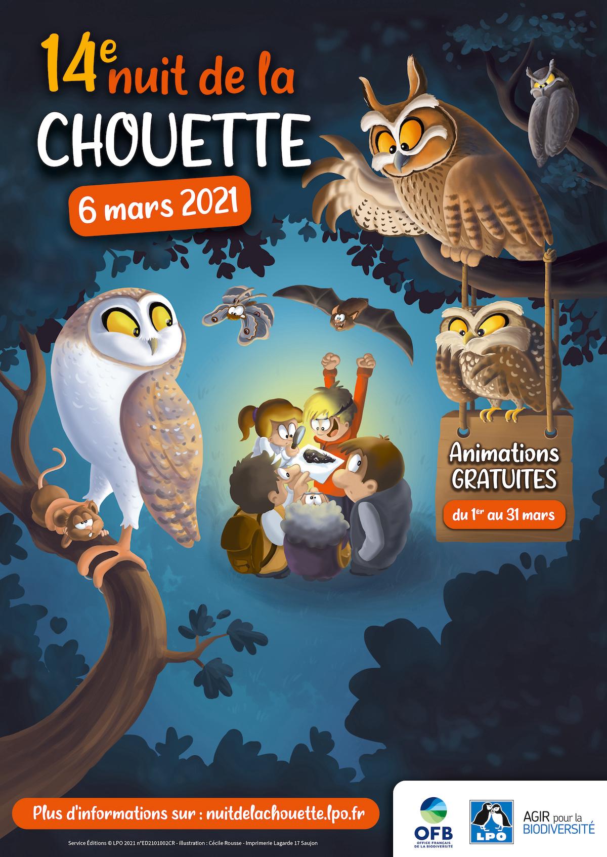 Nuit de la chouette, 14 ème édition